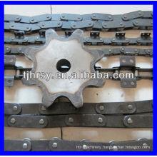 C45 Steel Double pitch sprocket 2042B8