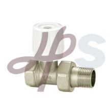 латунный клапан радиатора никелированная