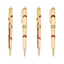 Kundenspezifische Logo Holzstift Advertsiing Holz Kugelschreiber