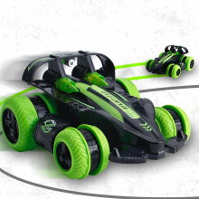 Volantex newest 2.4G remote control racing truck rc stunt car 360 degree roll with left right drift