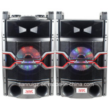10inch Professional PA System with LED Light 200W E244