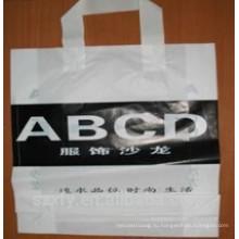 Пластиковая сумка для покупок с логотипом