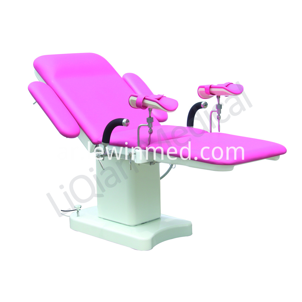Color customize obstetric bed