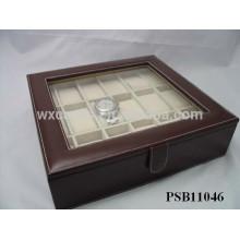 Leder Lagerung Uhrenbox für 18 Uhren Großhandel