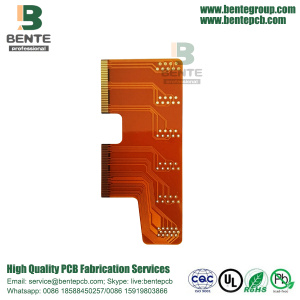 Industrial Control Flexible PCB 2 Layer Golden Finger