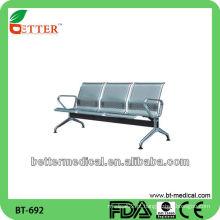 Cadeiras da sala de espera da cadeira / hospital