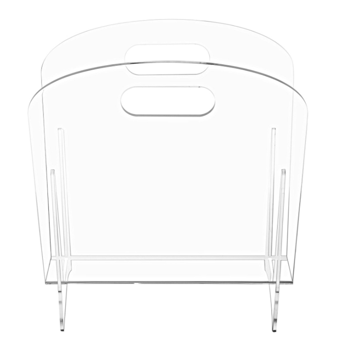 Clear Acrylic Magazine Display Holder