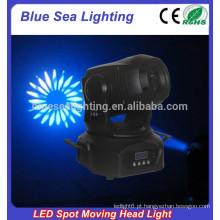 2015 hotsale 75w luz diso mini led movendo cabeça spot