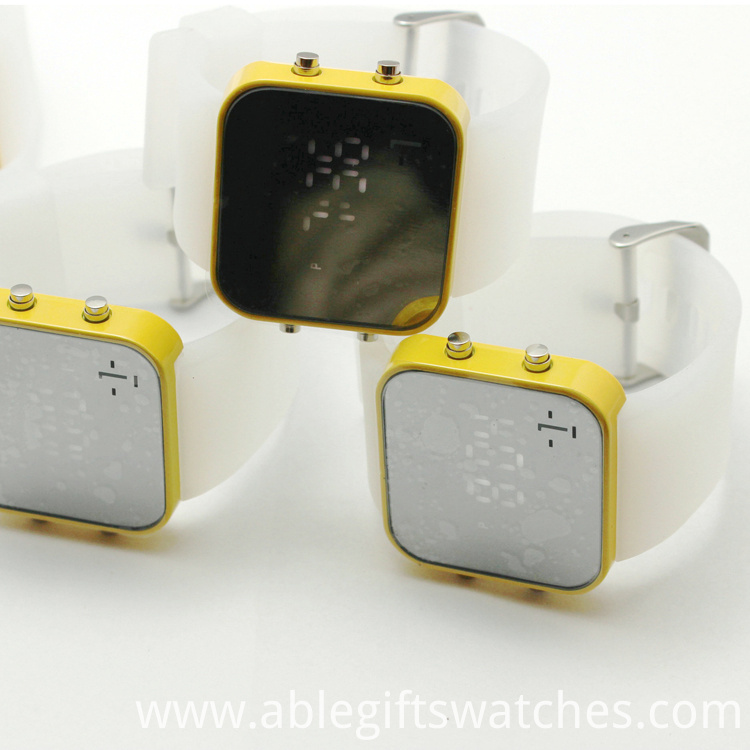 Water and Shock Resistant Watch LED Watch