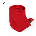 Cravate faite sur commande de microfiber de polyester imprimée en Chine