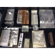 Bienvenida personalizadas diferentes tipos de aluminio CNC parte
