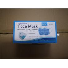 Masque facial 3 plis avec 50 pièces par sac