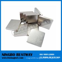 15x10x3mm N42 NdFeB Magnets Block Shape W/Ni Coating