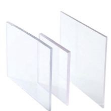 2021Factory Price waterproofing anti scratch coated transparent solid polycarbonate sheet for advertising board