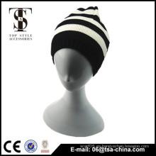 100% hombres de acrílico moda invierno sombreros