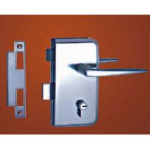 Cerradura mecánica de alta calidad de la puerta de cristal del material de la aleación del cinc que cierra el cilindro de la puerta