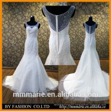 2016MeMe Marie Alibaba sweetheart Illusion Back long train lace wedding dresses