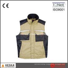 Heavy-Duty Cpocket Polyester Work Vest