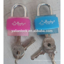 plastic box with padlock for student