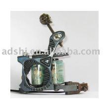 professional handmade cast iron frame copper wire 8wrap coils liner tattoo machine gun