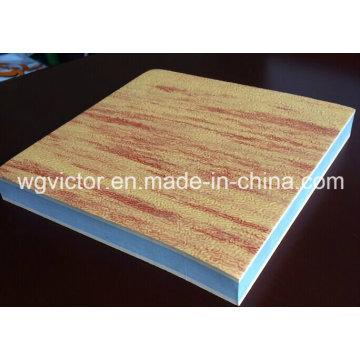 Estera de Taekwondo del grano de madera de EVA