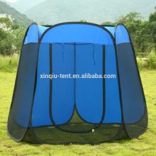 Большая сетка sheleter хлопните вверх напольный шатер