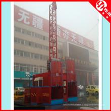 Двухкабинный строительный подъемник Sc200 на продажу