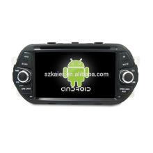 ¡Cuatro nucleos! DVD de coche de Android 6.0 para Egea con pantalla capacitiva de 7 pulgadas / GPS / Enlace de espejo / DVR / TPMS / OBD2 / WIFI / 4G