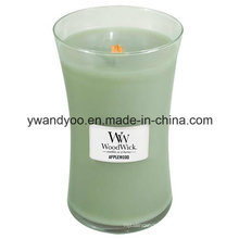 Romantic Glass Jar Soy Candles for Decoration