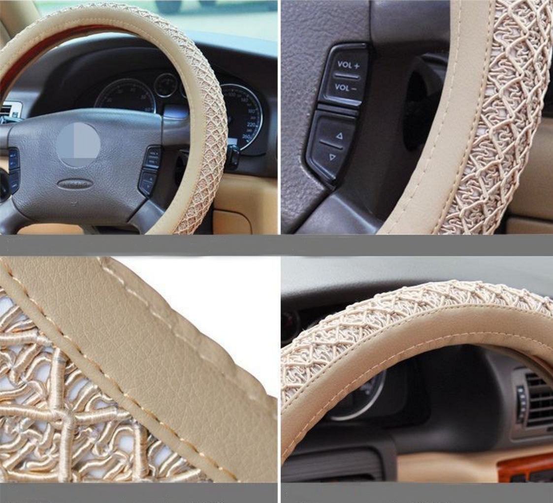 ice silk steering wheel cover