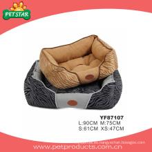 Cama de alta calidad hecha a mano del perro, producto del animal doméstico (YF87107)