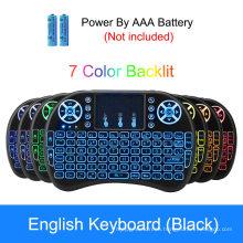 Smart TV Backlit USB Mini Wireless Keyboard