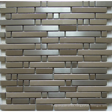Mosaic Wall Tile, Stainless Steel Metal Mosaic (SM262)