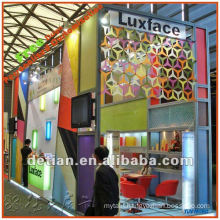 Modular construction aluminum display stand fair stand exhibition booth display with free design in Shanghai for exhibit