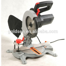 210mm 1500w Aluminium / Holz Schneiden Power Gehrungssäge Tragbare elektrische Handelstisch Säge GW8005A