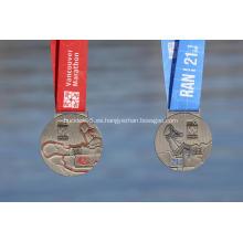 Medalla de 2018 Vancouver Marathon Finishers