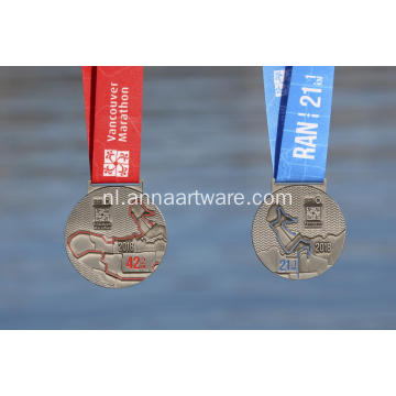 2018 Vancouver Marathon Finishers Medaille
