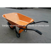 Carrinho de mão de roda Wb6400 da construção com roda do sólido ou do ar