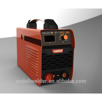 2014 nouveau type bonne qualité costume 3.2 4.0 mm soudage électrodes IGBT DC inverter machine à souder (MMA 200)