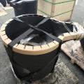 High thermal conductivity silicon carbide graphite crucible