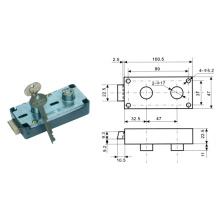 Key & Finger Mark Lock, Safe Box Finger Mark Lock Al-125A-1