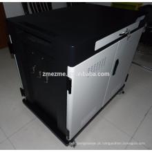 2016 ZMEZME Tablet Móvel IPad 40 Port Elétrico Seguro caixa De Carregamento De Aprendizagem Ipad carrinho de carregamento carrinho de carregamento