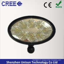 "12V 6"" 40W Oval CREE LED Work Light for John Deere"