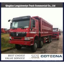 Capacidad del camión volquete de Sinotruck HOWO 8X4 371HP 22cbm