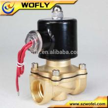 316 Válvula solenóide de água de aço inoxidável 24v