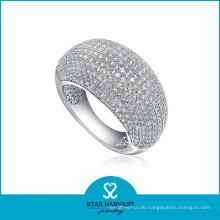Micro gepflasterter Sterling Silber Schmuck Ring (SH-R0011)