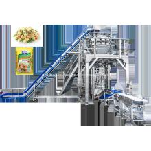 Automatische Verpackungsmaschine für gefrorene Karotten und Erbsen