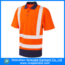 Bulk Großhandel Work Clothes Reflektierende Uniform Polo T-Shirt