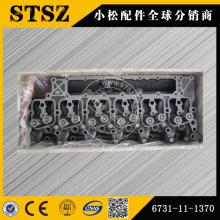 Pièces d'origine Komatsu PC200-7 culasse 6731-11-1370