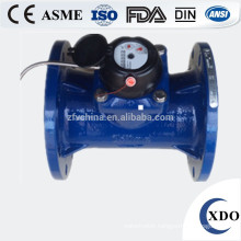 XDO50-300 ISO4064 horizontal dry dial woltman irrigation water meter